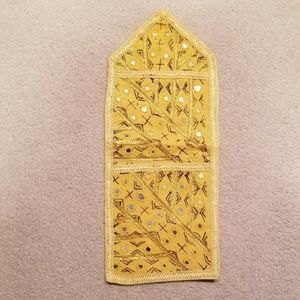 Accents - Yellow decorative wall hanger